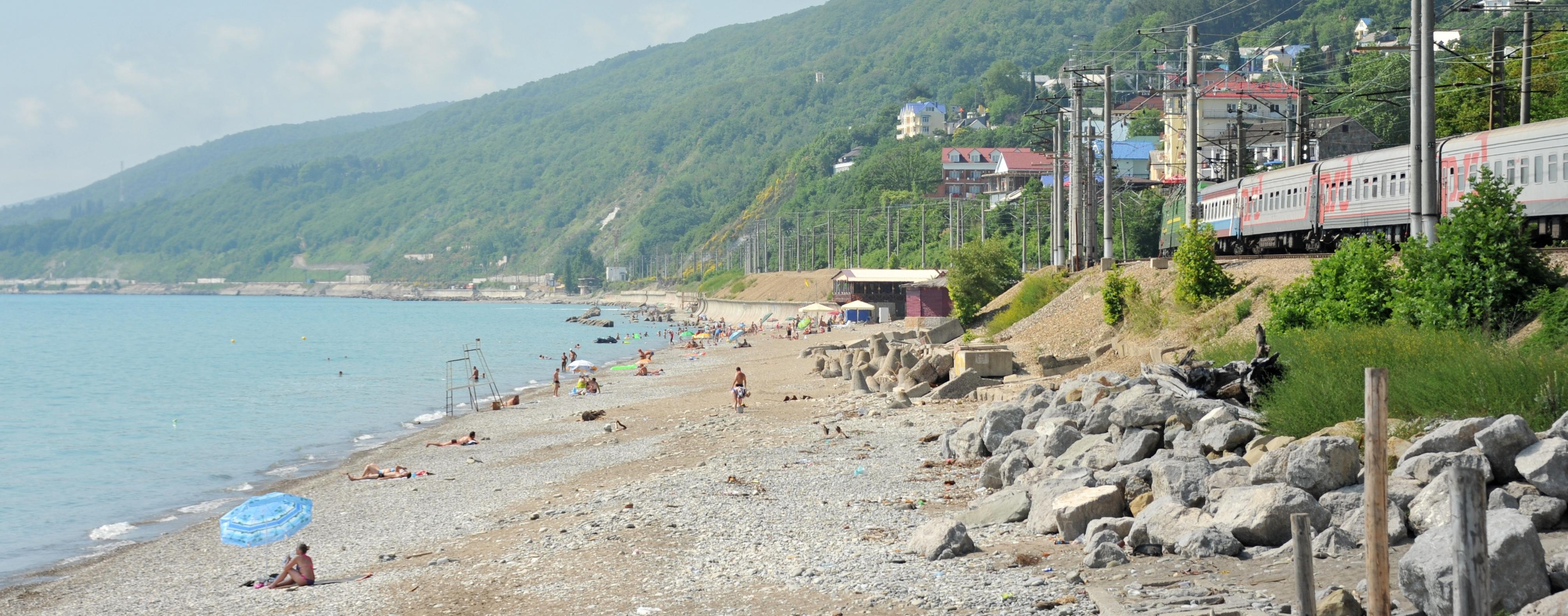 пляжи лазаревское фото отзывы